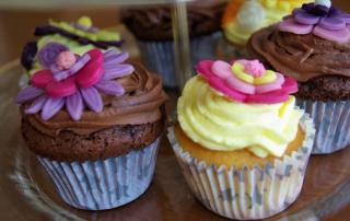 Cupcakes décor en sucre