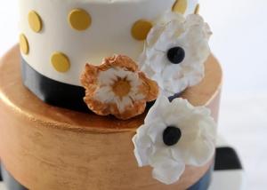 Détail gâteau Rétro